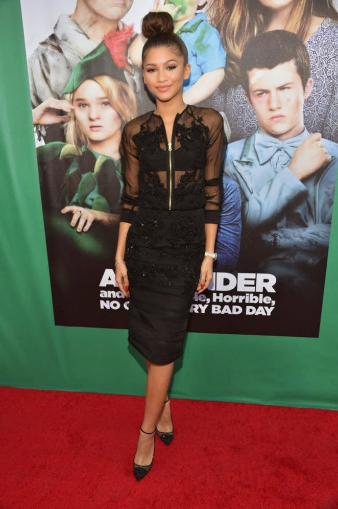 Zendaya Coleman: Alexander And The Terrible Horrible No Good Very Bad Day Premiere