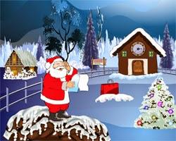 Juegos de Escape Clock House Santa Escape