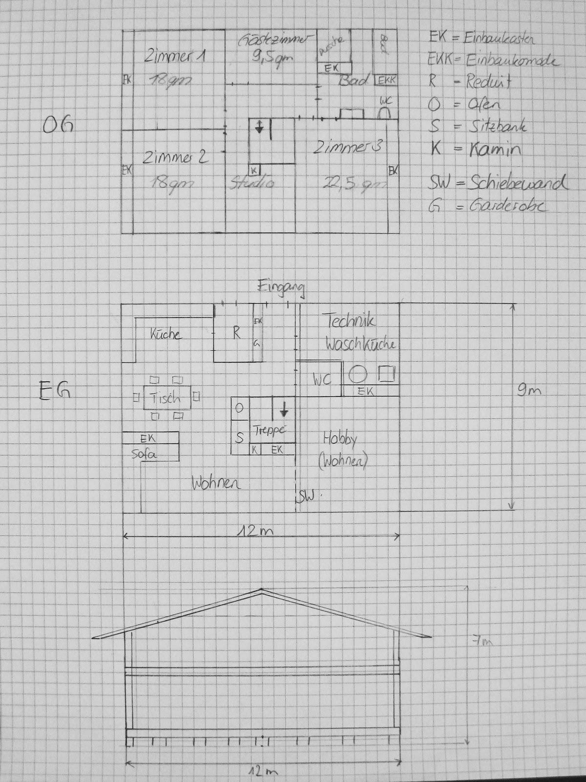 holzhaus wir bauen ein haus aus holz haus mit truber holz. Black Bedroom Furniture Sets. Home Design Ideas