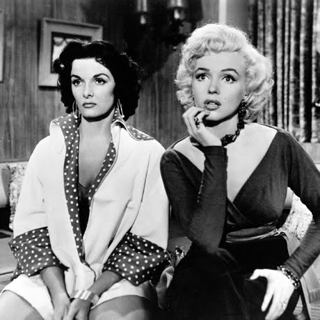 Marylin Monroe and Jane Russell
