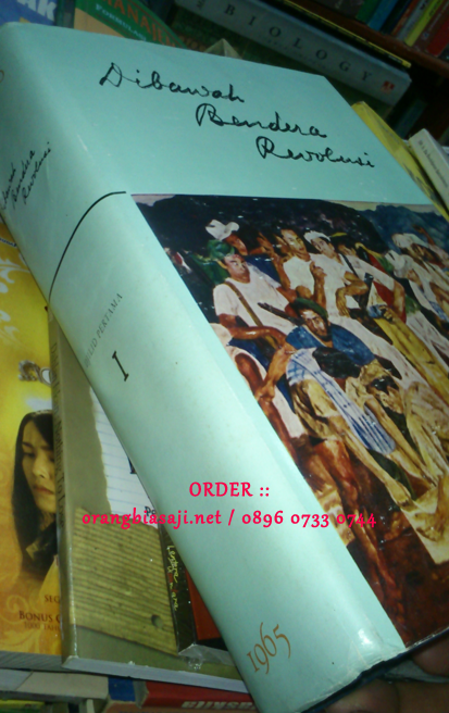 jual buku dibawah bendera revolusi / DBR karya Ir Soekarno