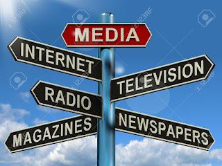La disparition des régions de la carte médiatique du Québec 13564620-D-orientation-pour-les-m-dias-Internet-Affiche-journaux-magazines-et-la-radio-t-l-vision-Banque-d%2527images