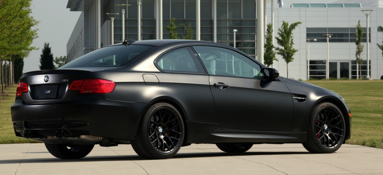 The 2011 bmw frozen black edition m3 coupe
