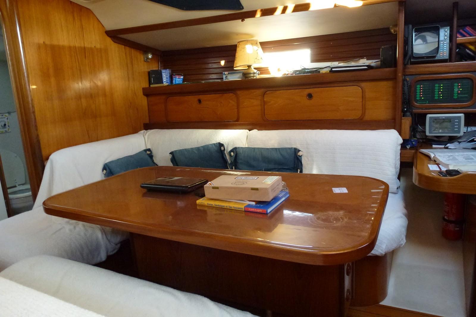 Voilier morgane le bateau for Le cabine progetta le planimetrie