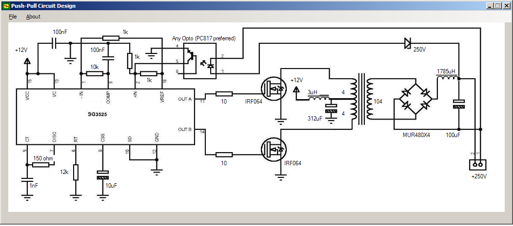 Current limit on mosfet driver, have you got a circuit?