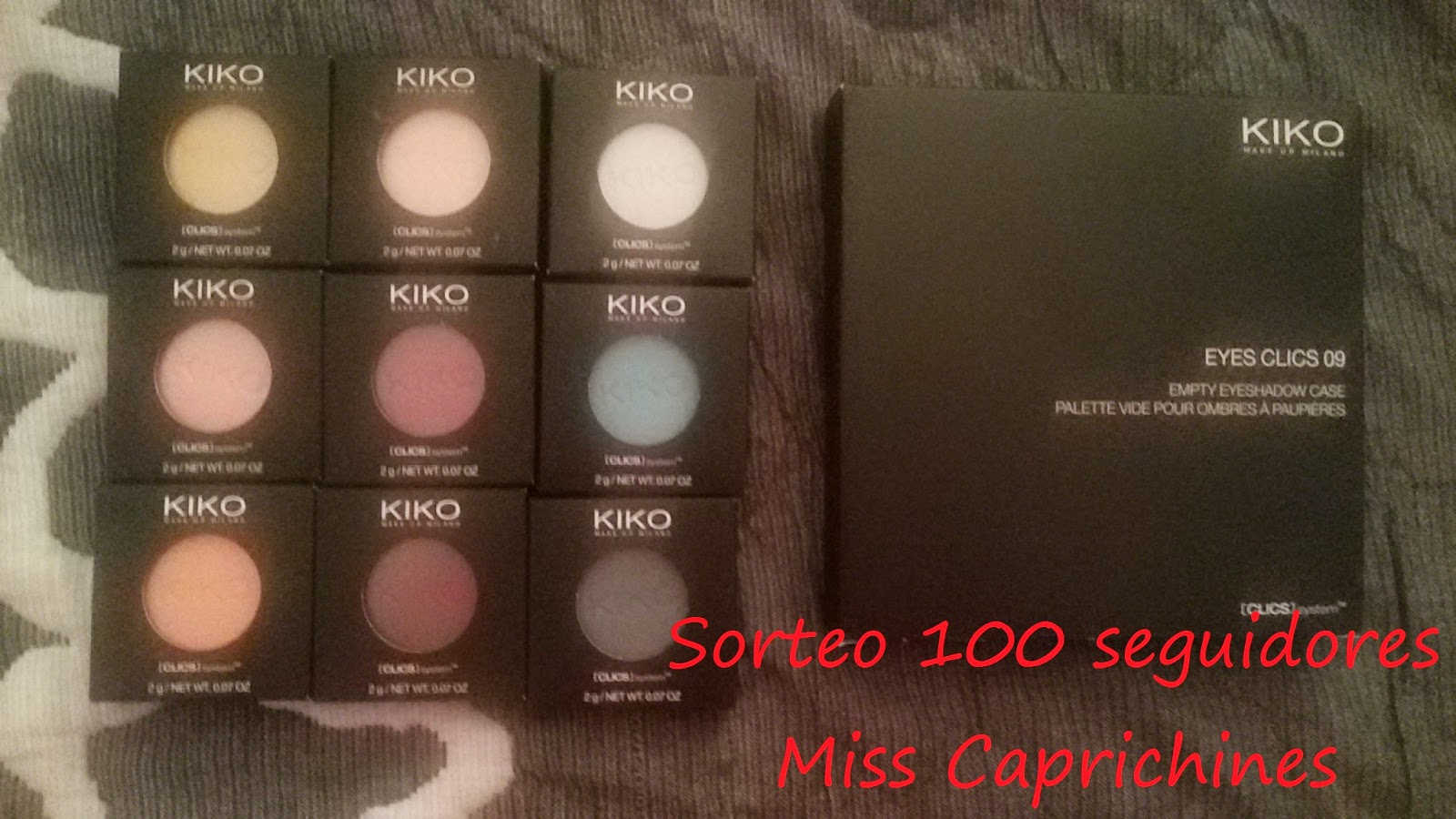 Sorteo Miss caprichines