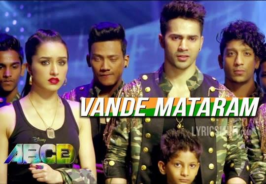 Vande Mataram from ABCD 2