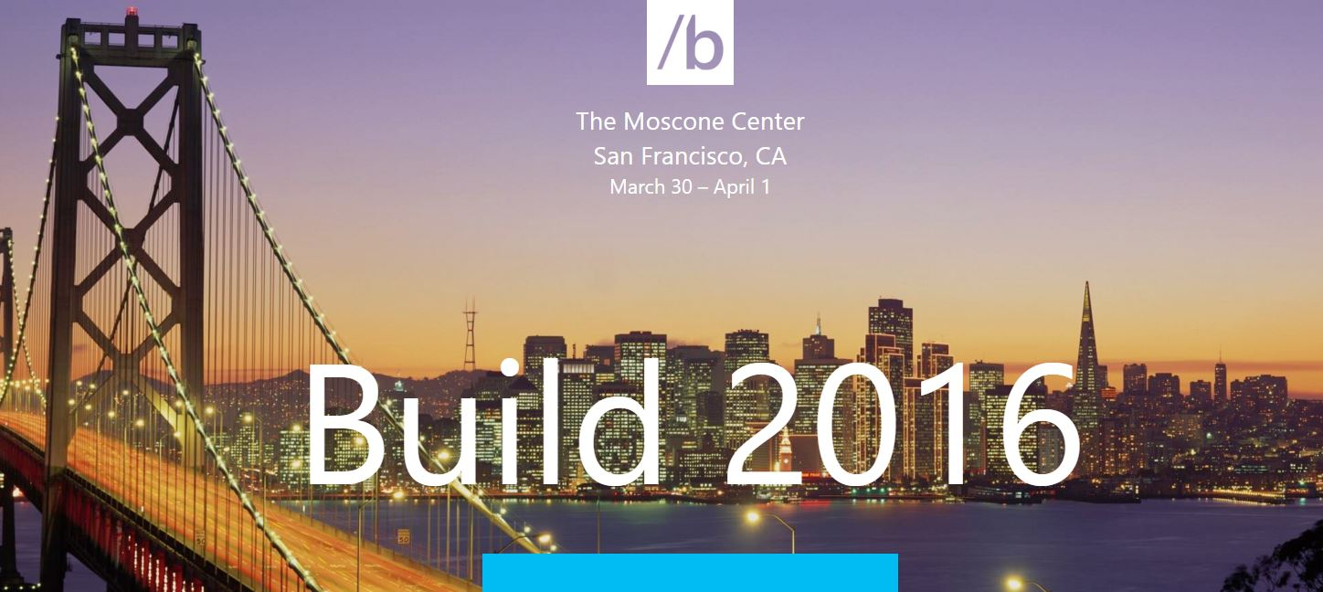 build 2016, Microsoft