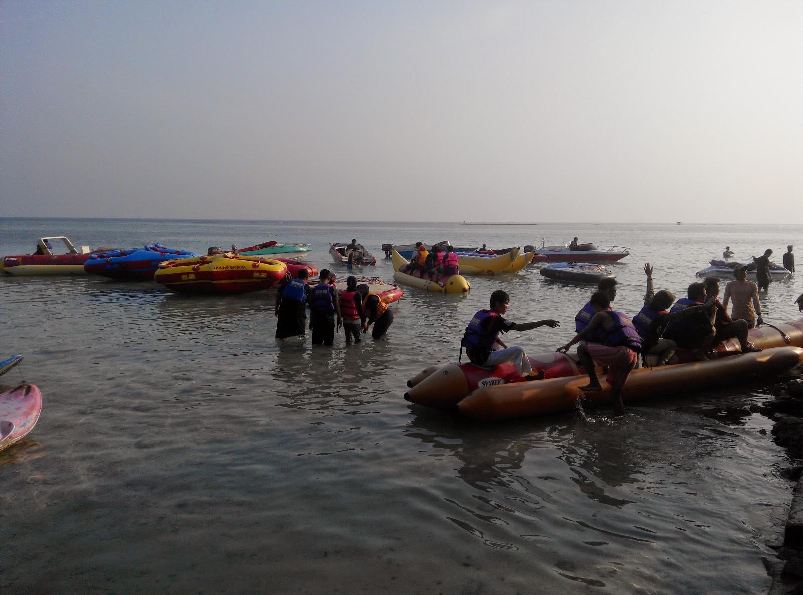 Banana Boat Pulau Tidung