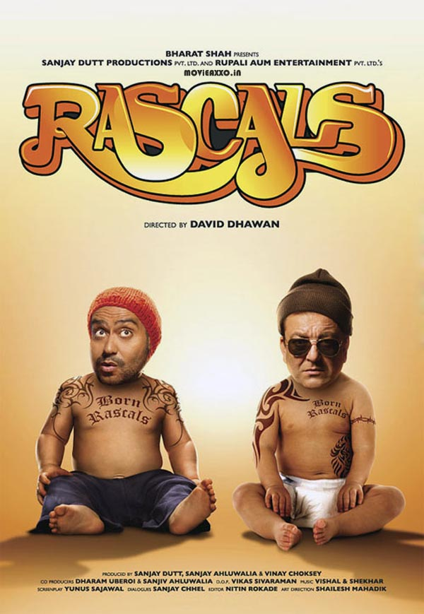 First Look : Sanjay Dutt, Ajay Devgn Upcoming Movie Rascals