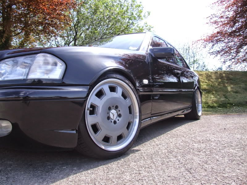 Mercedes-Benz W202 on R18 Wheels | BENZTUNING