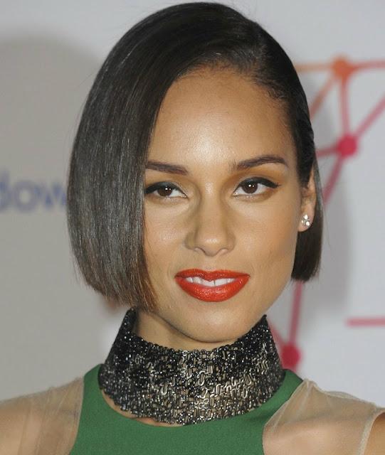 MTV Europe Music Awards, Alicia keys makeup