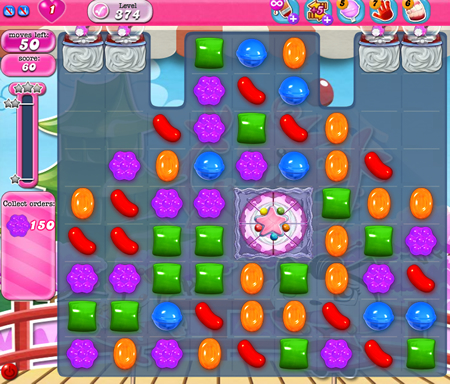 Candy Crush Saga 374