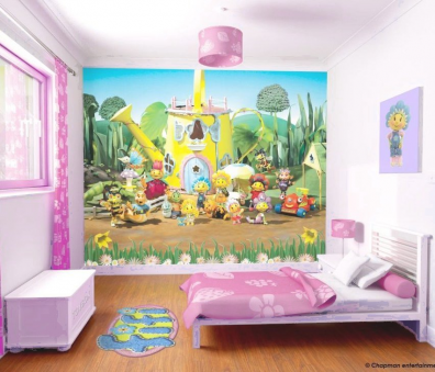 Decoraciones y mas coloridos murales gigantes para habitaciones de ni os en el 2014 - Murales para ninos ...