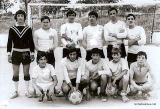 Equipo de fútbol de Candelario Salamanca en Las Eras