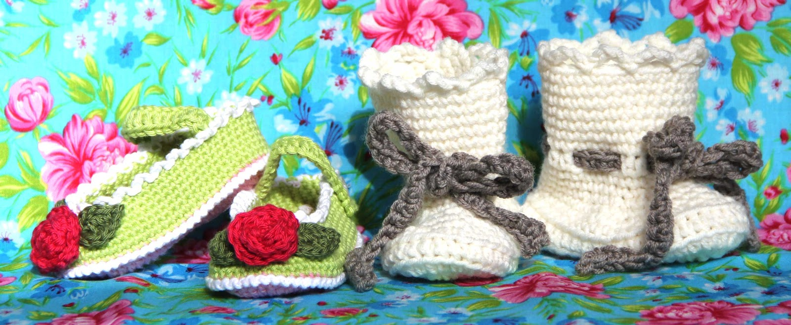 crochet shoe sock baby patern