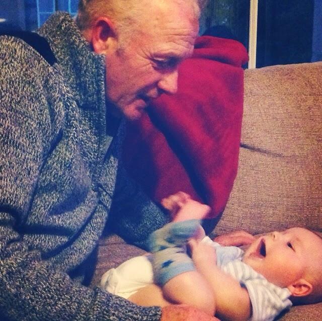 Beau is blue, beauisblue, grandparents