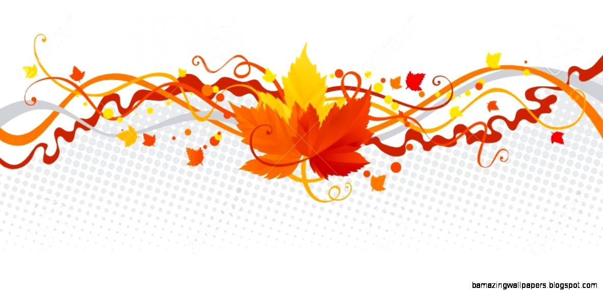 Leaves Border Vector Abstract Border With Autumn Leaves Royalty