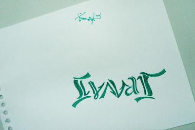 Ambigram - Sravani
