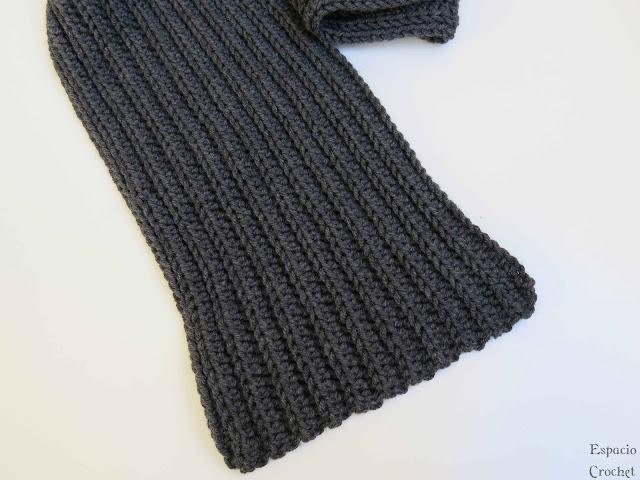 Otra bufanda de crochet