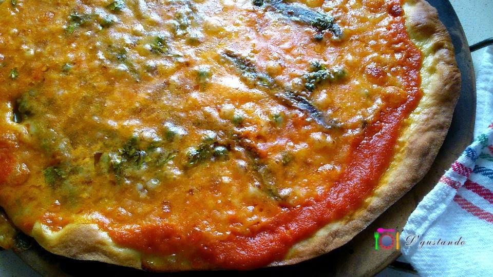 Una pizza fácil de hacer