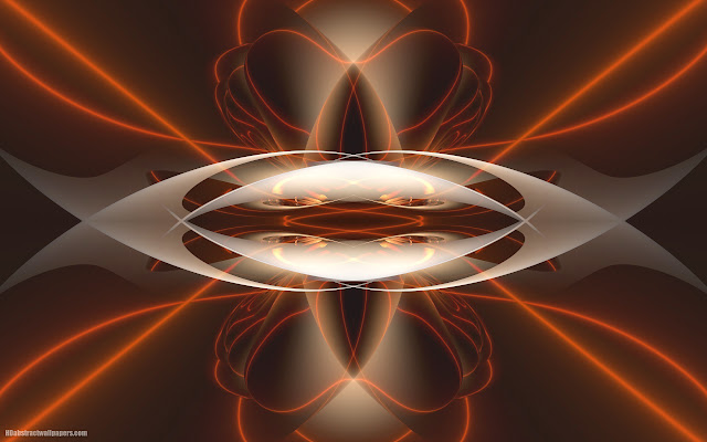 Symmetric abstract wallpaper