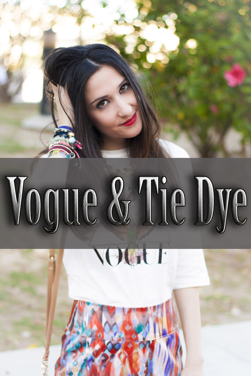 Vogue and Tie dye
