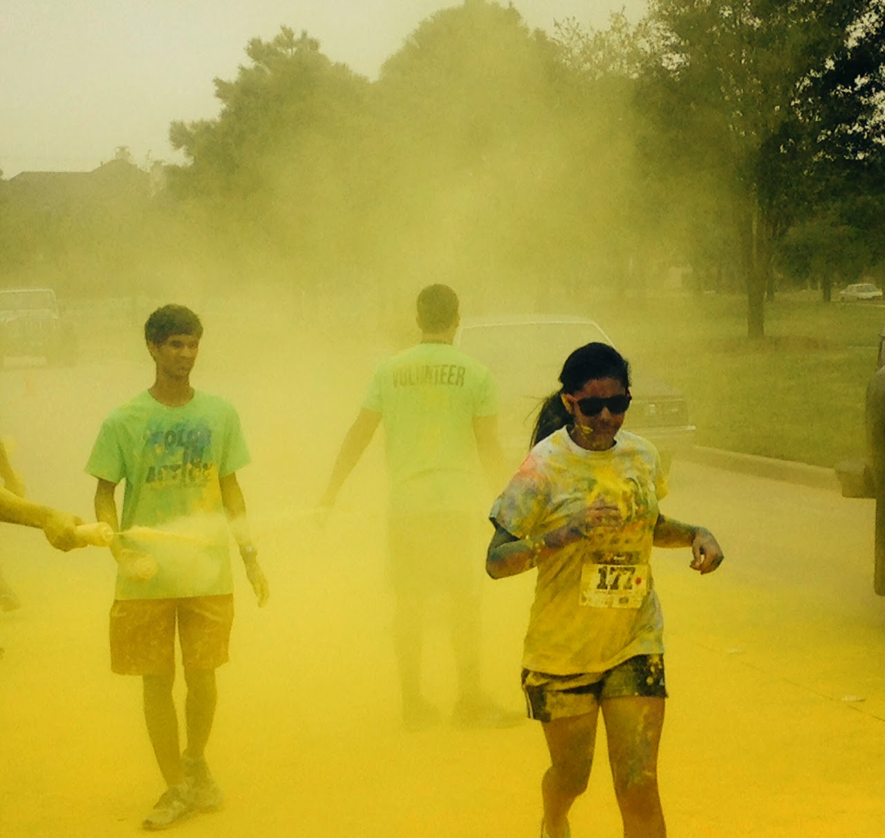 how to bring colour run to my school