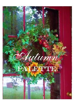 Autumn Palette Notebook