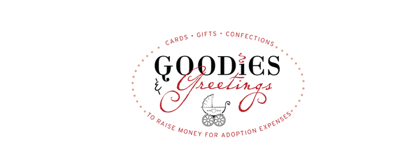 Goodies and Greetings for our Adoption