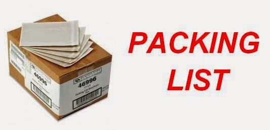packing list-documentos del comercio internacional