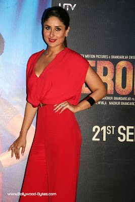 Kareena Kapoor, Argun Rampal, Madhur Bhandarkar at Heroine Movie Trailer launch