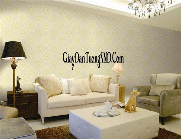 giấy dán tường cho phòng khách