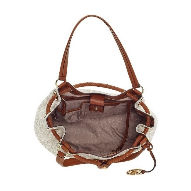 c72441bf0284d3 see more pictures. Click link below to Buy Yours. Michael Kors Handbag Jet  Set Item Large Signature ...