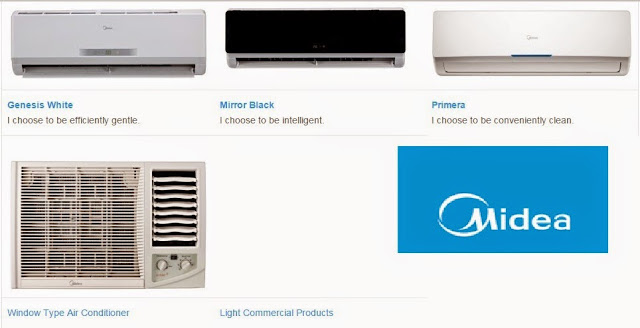 Midea-Split-type air conditioners