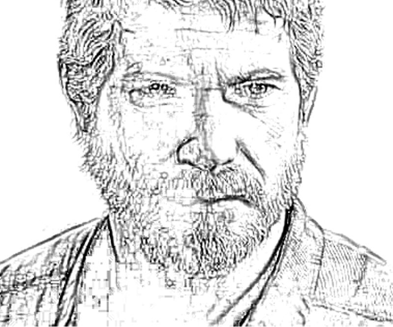 printable-last-of-us-joel-character-coloring-pages