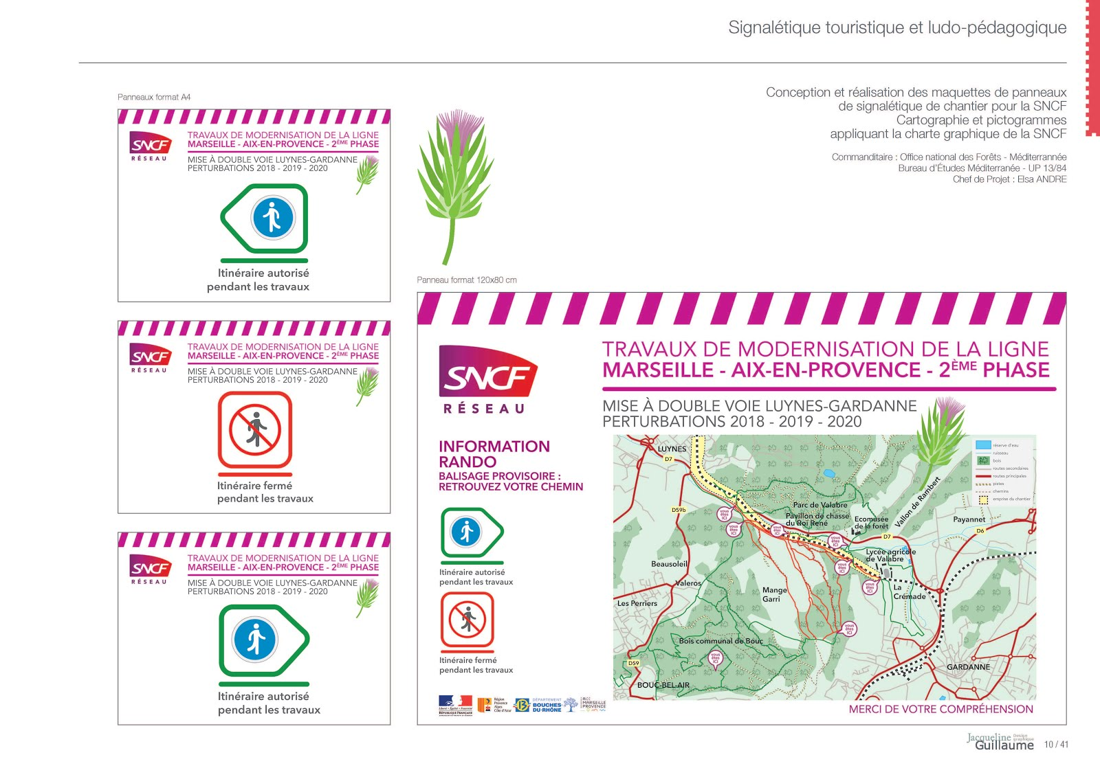 SNCF GARDANNE ONF