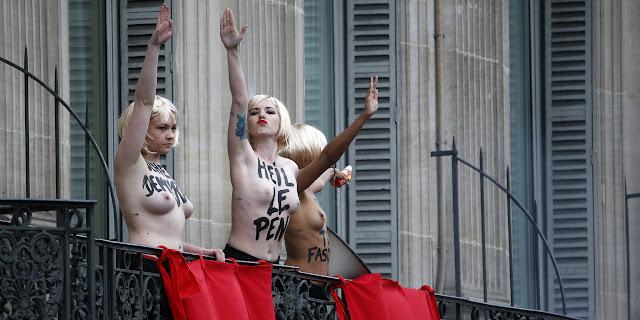 As garotas do Femen, me fazem lembrar de Miley Cyrus