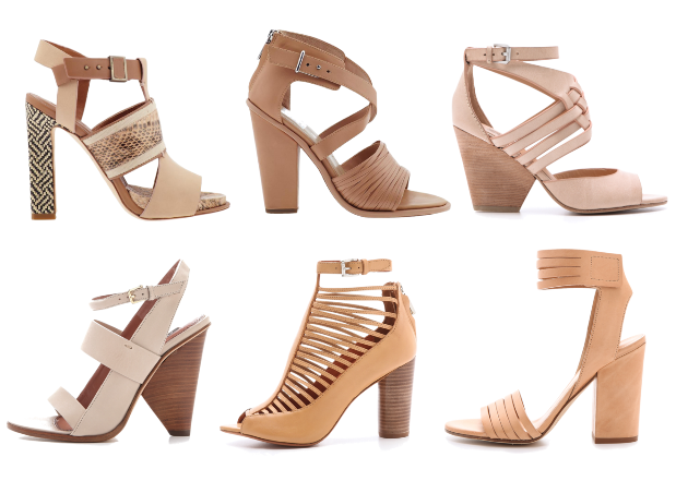 nude shoes sandals spring summer 2013