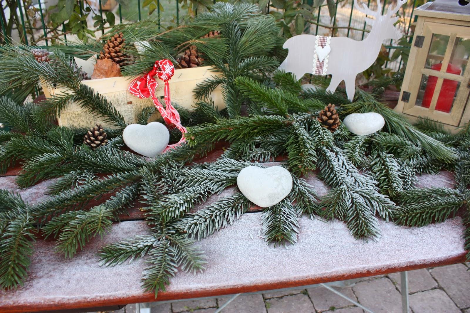 Atelier inez eckenbach kunst und deko f r haus und - Gartenbank dekorieren ...