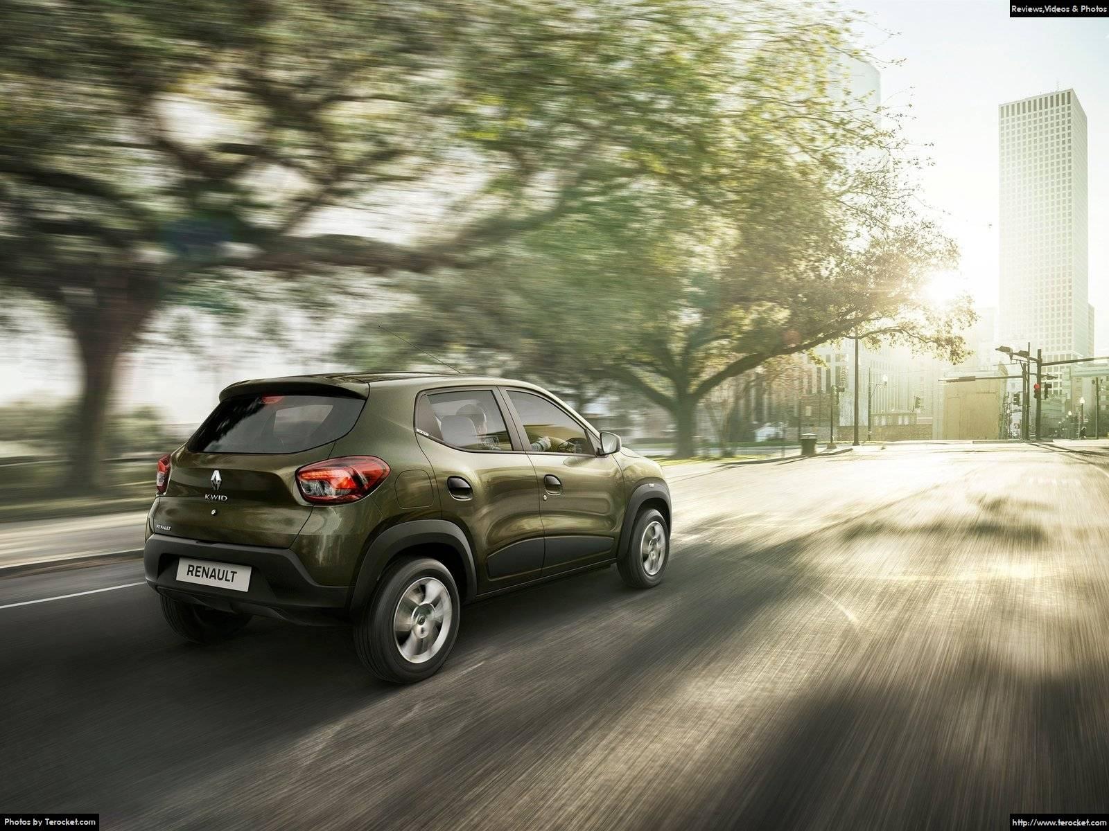 Hình ảnh xe ô tô Renault Kwid 2016 & nội ngoại thất