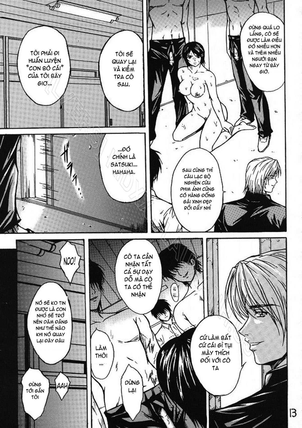 TruyenHay.Com - Ảnh 12 - Ryoujoku Rensa Chapter 2