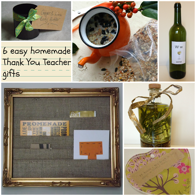 easy homemade teacher thank you gifts
