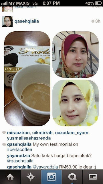 testimoni perla coffee