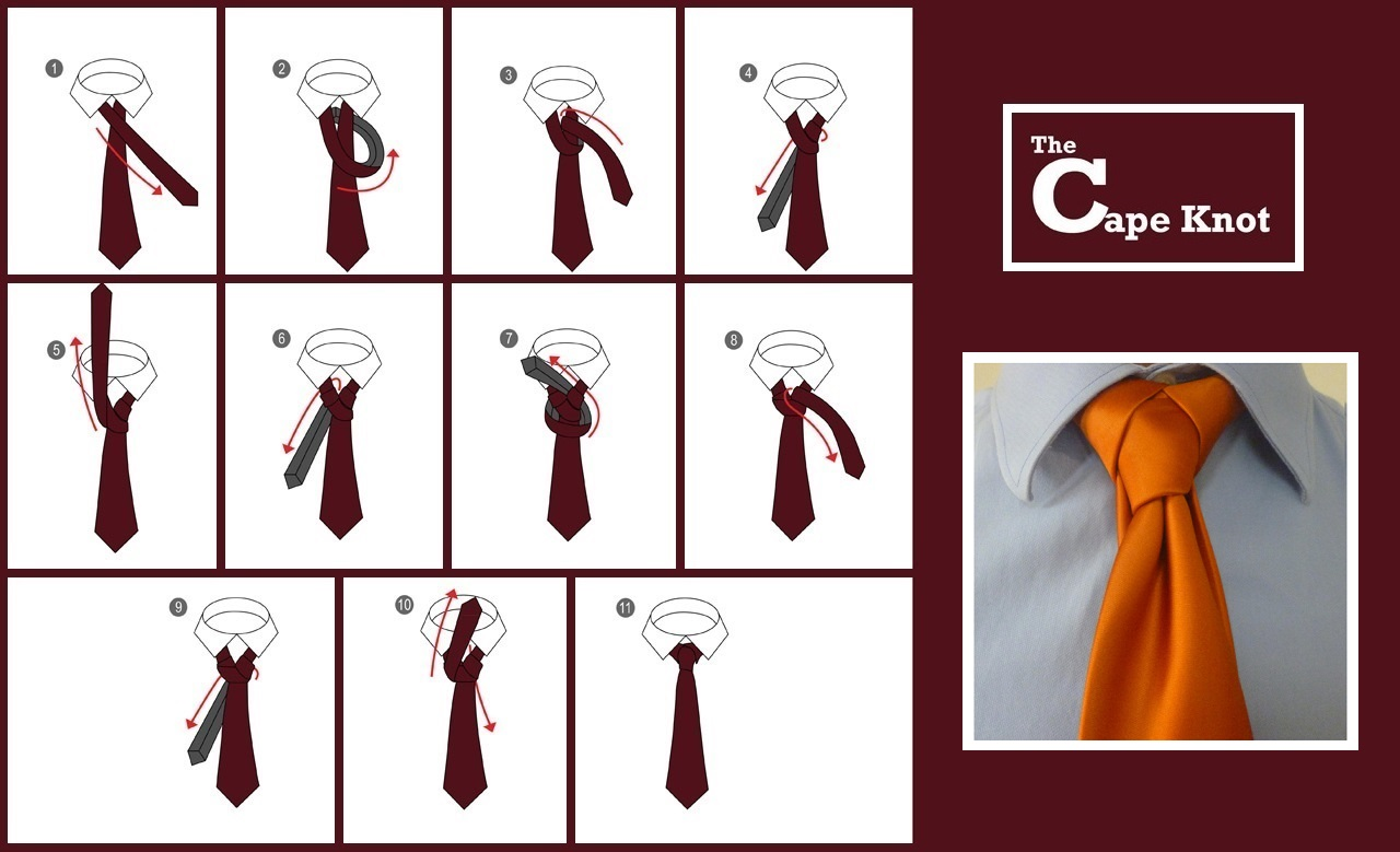A cape is a sleeveless outer garment, which drapes the wearer's back, arms and chest, and fastens at the neck.