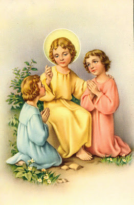 postales religiosas antiguas para scrapbooking