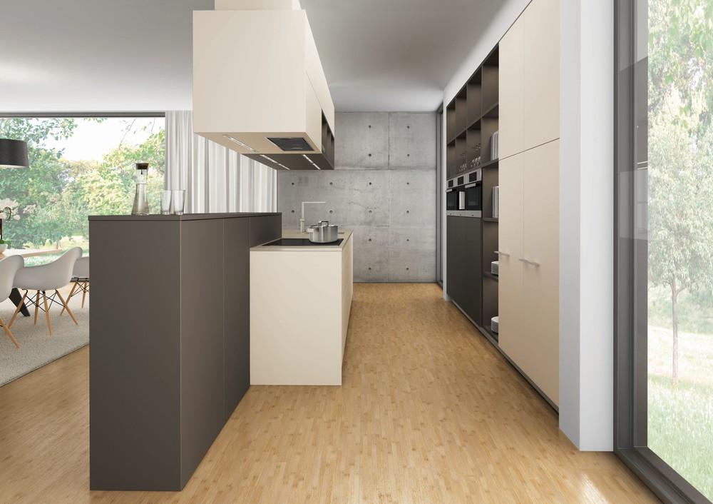 Una cocina que divide espacios cocinas con estilo for Cuisines encastrees