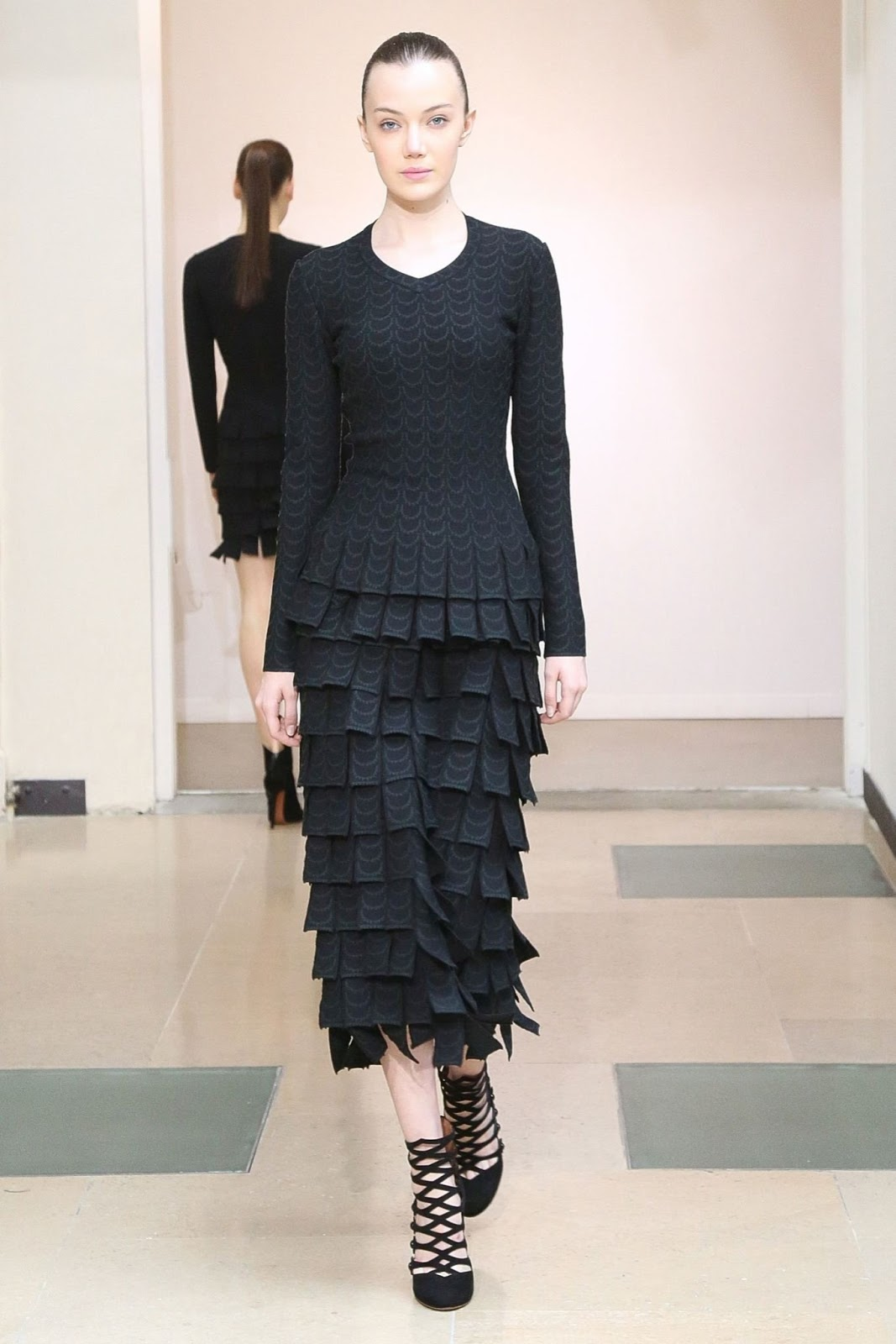 Azzedine Alaia Fall 2015 collection look book / fashioned by love