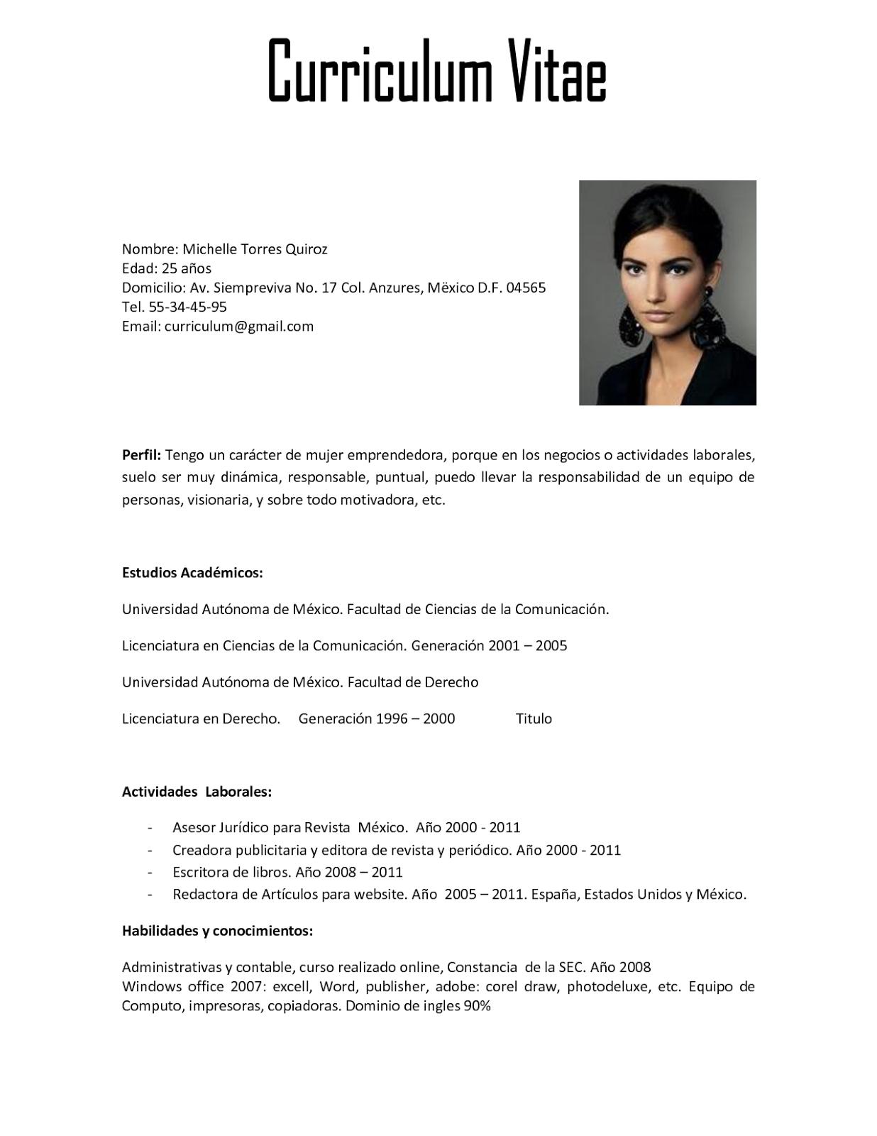 El trabajo de buscar trabajo: Currículum vítae