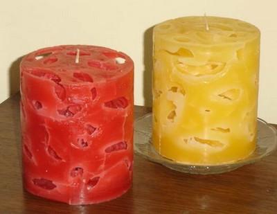 velas con hielo portal de manualidades On como hacer velas decorativas